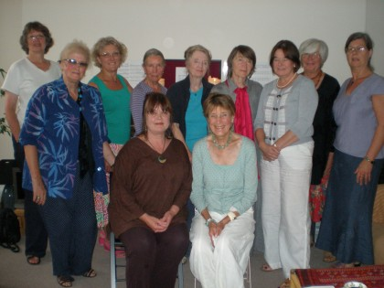 The Ladies at Judy Jones' Coffee morning