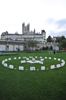 Bath Abbey & the CANDALA of Peace